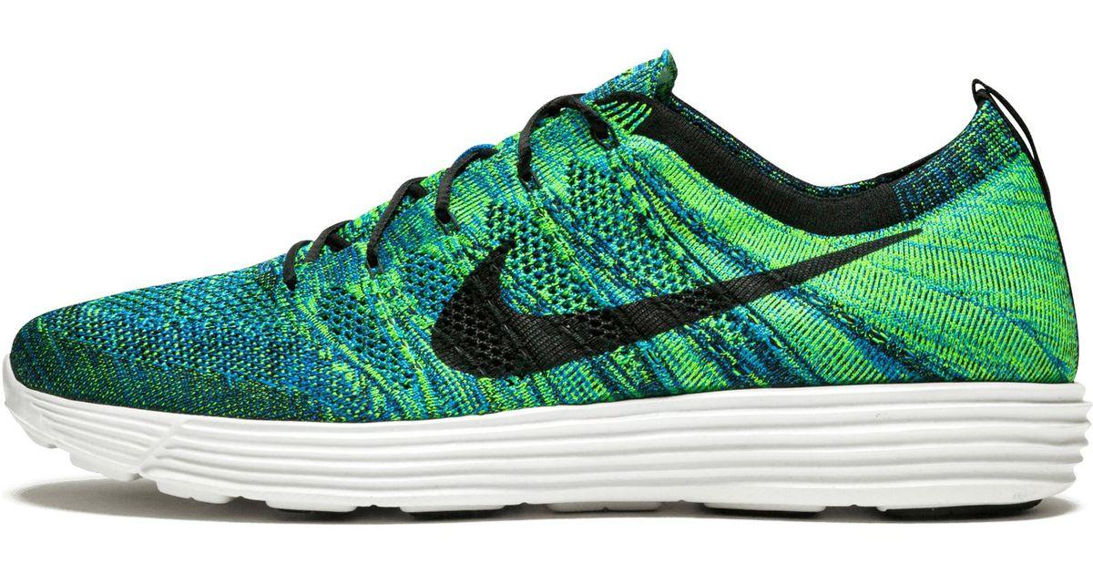 Nike Lunar Flyknit Htm Nrg in Blue for