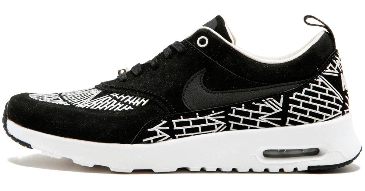 low priced 70a21 a57ab Lyst - Nike Wmns Air Max Thea Lotc Qs in Black