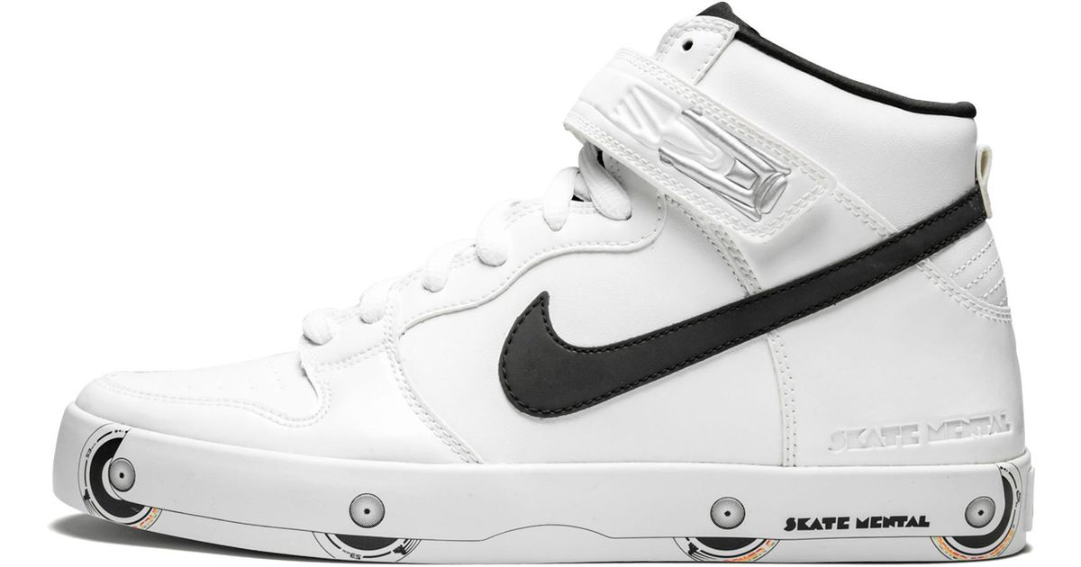 the latest 30dc6 e5408 Nike Dunk High Lr Premium in White for Men - Lyst