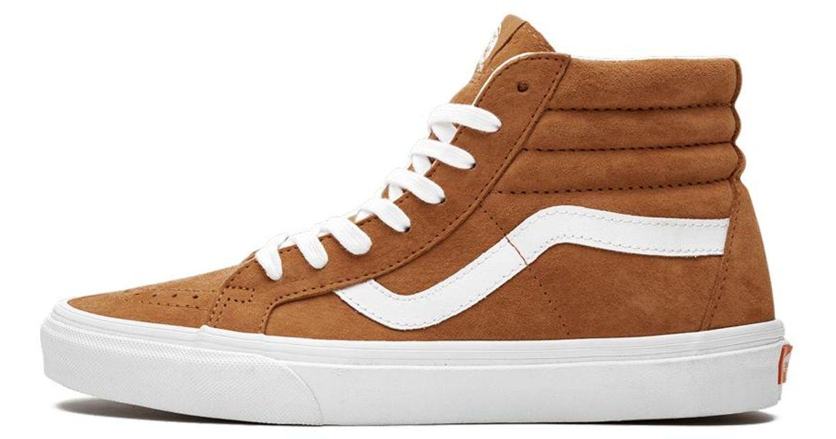 Sneakers VANS Sk8 Hi Reissue VN0A2XSBU5K (Pig Suede) Leather Brown