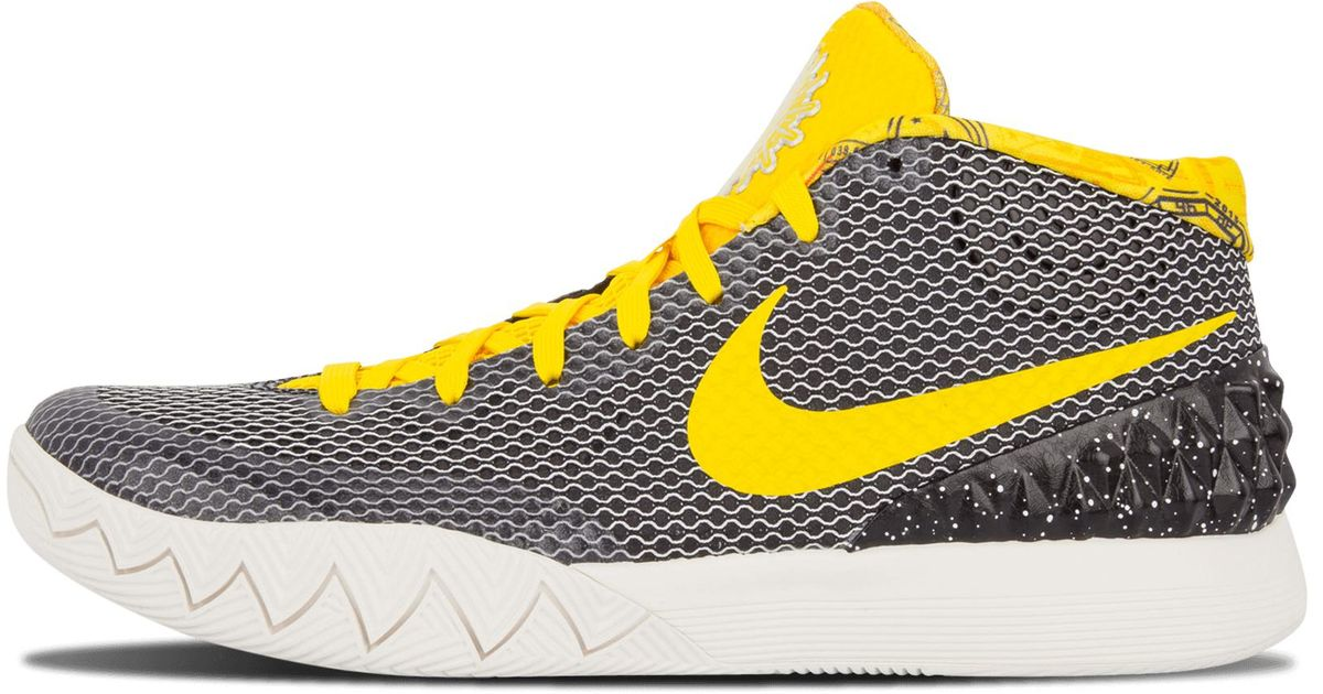 wholesale dealer c69a5 58120 Nike Yellow Kyrie 1 Lmtd for men