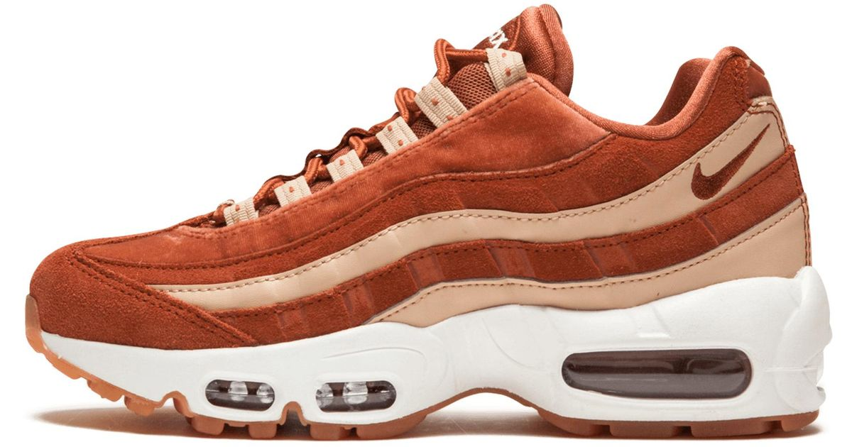 Nike Womens Air Max 95 Lx in Red - Lyst