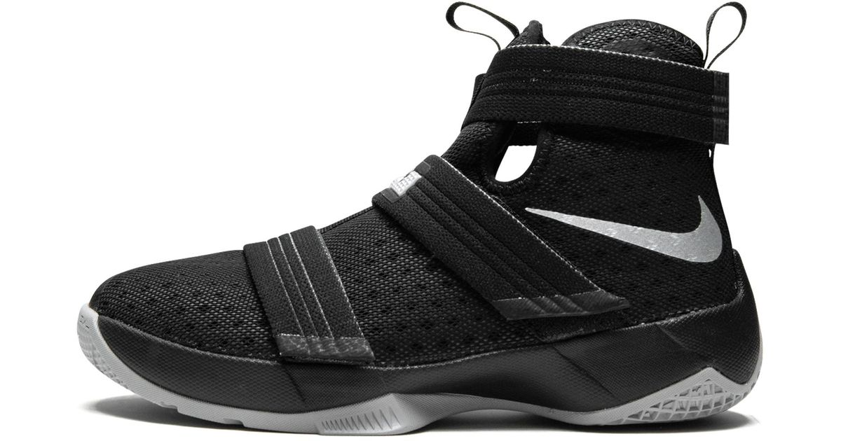 9314db51388 Nike Lebron Soldier 10 (gs) in Black for Men - Lyst