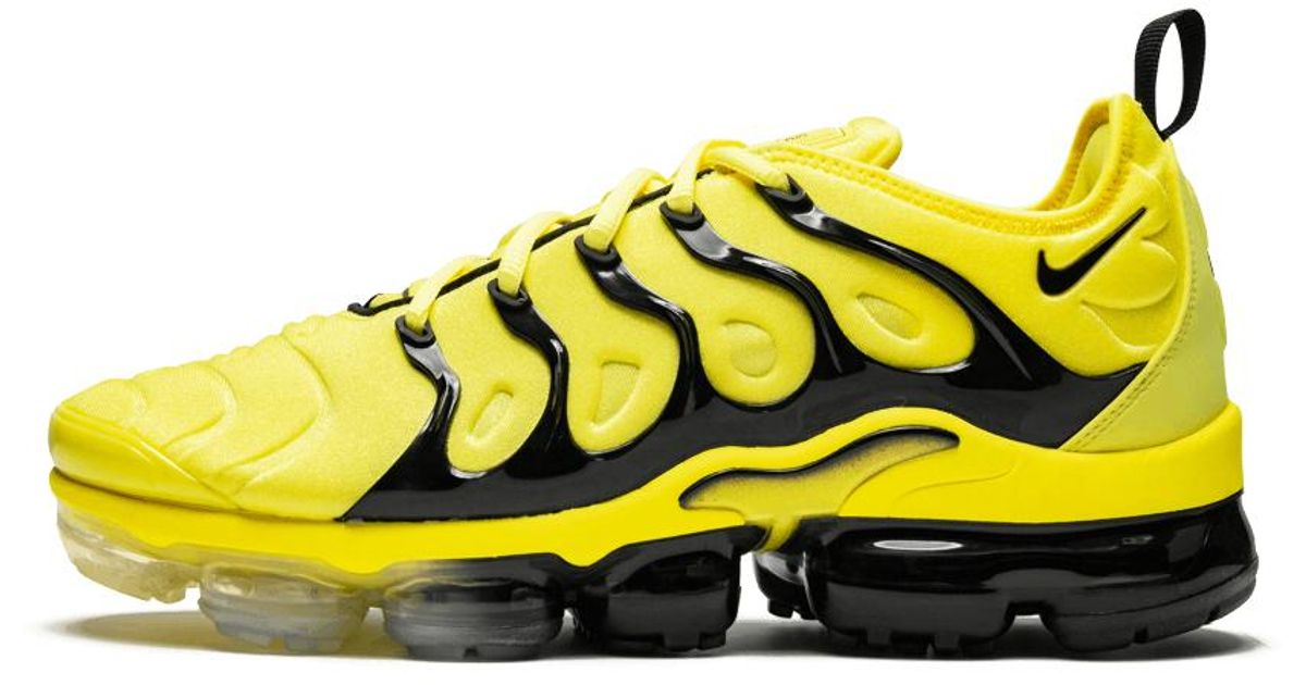 watch 5064a eee6a Nike Yellow Vapormax Plus for men