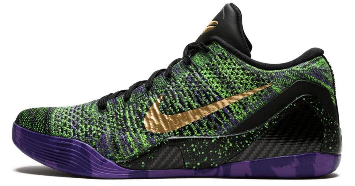 Nike Rubber Kobe 9 Elite Low 'mamba