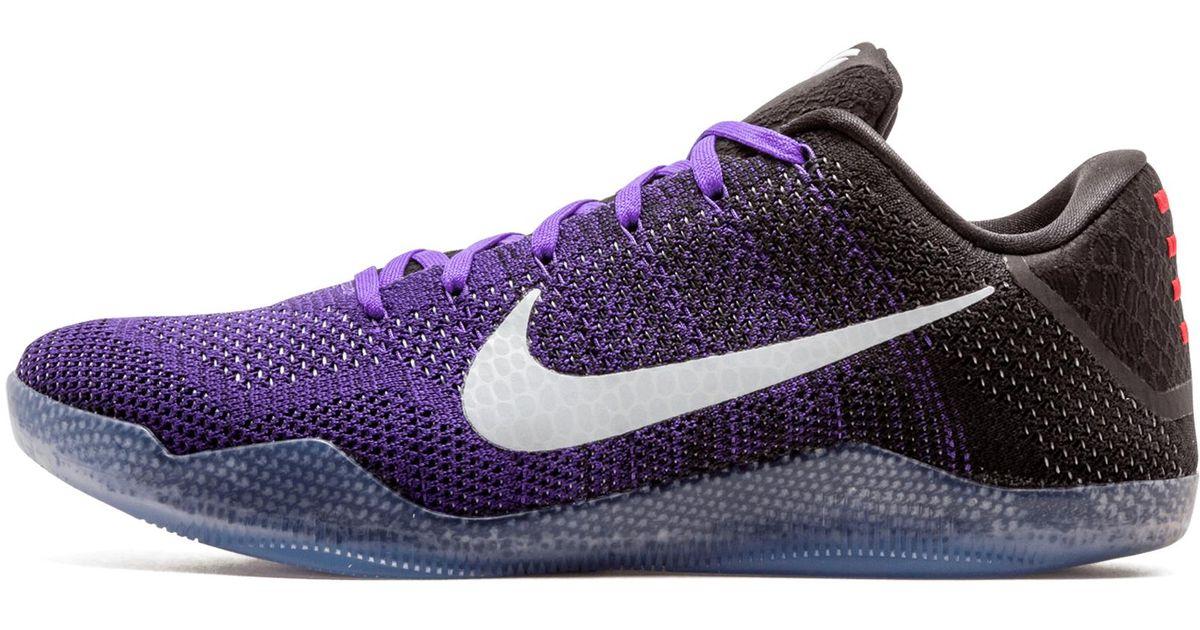 best sneakers e7dc5 c5b26 Nike Purple Kobe 11 Elite Low 'eulogy' Shoes - Size 13 for men
