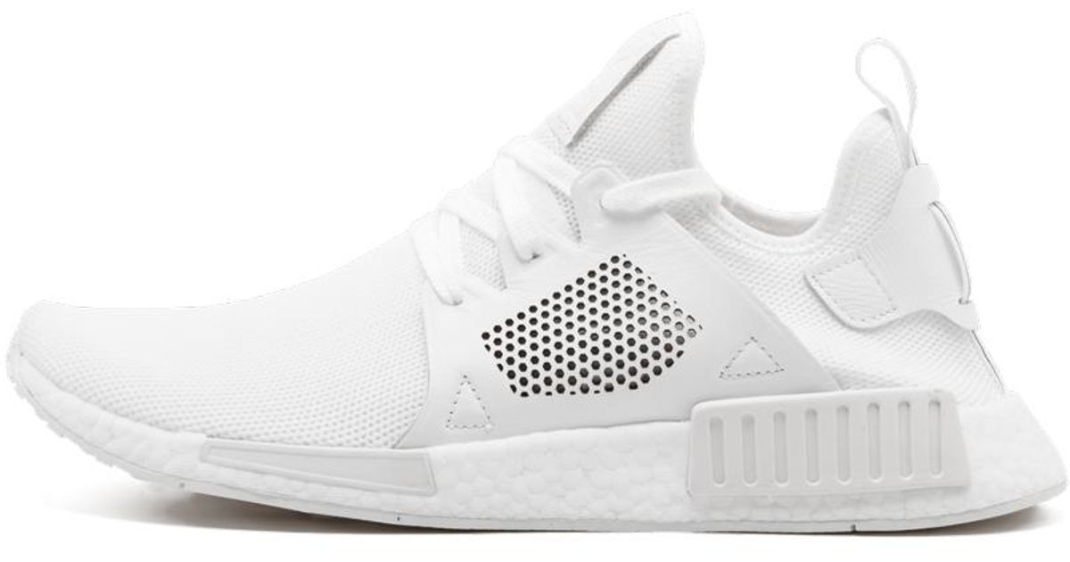 Adidas White Men's Nmd Xr1 Lace Up Sneakers for men