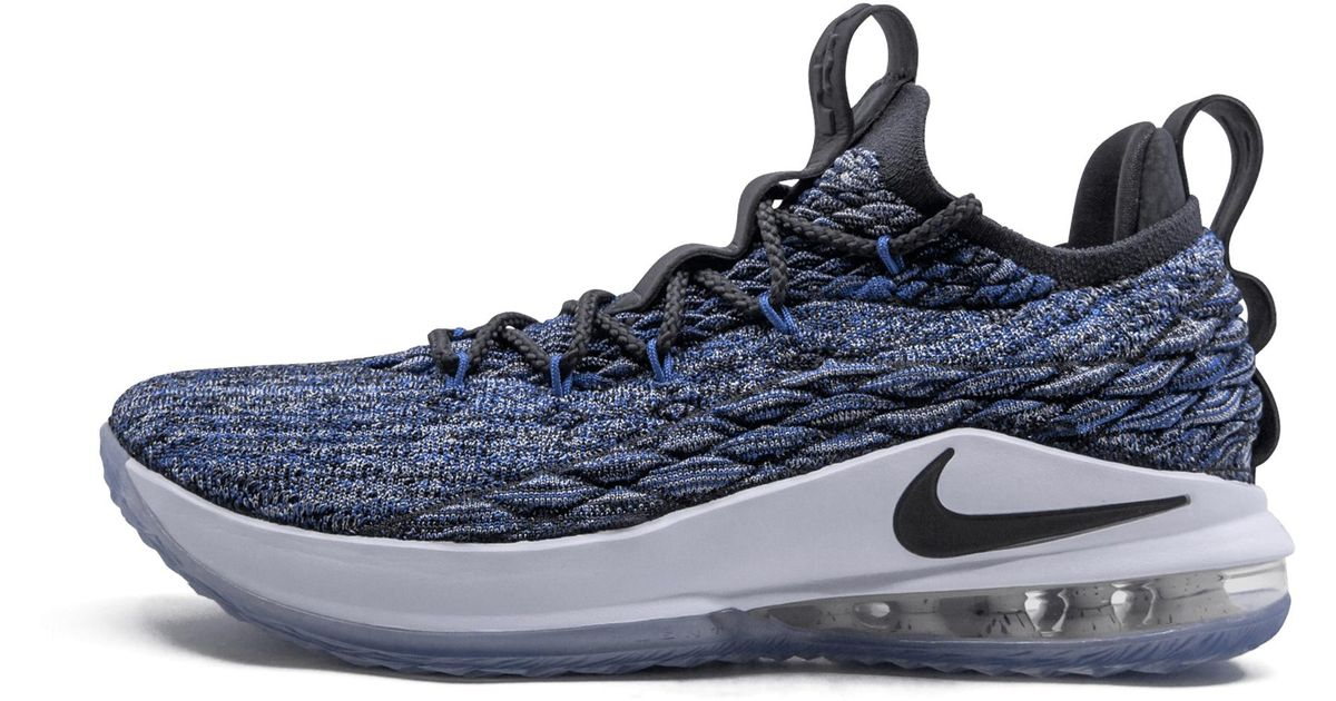 71cd63e1f9d1 Nike Lebron 15 Low in Blue for Men - Lyst