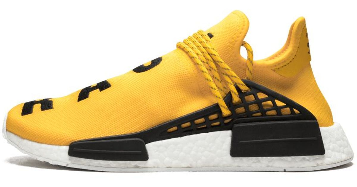 on sale b1a55 65379 Adidas Yellow Pw Human Race Nmd 'pharrell' - Size 9.5 for men