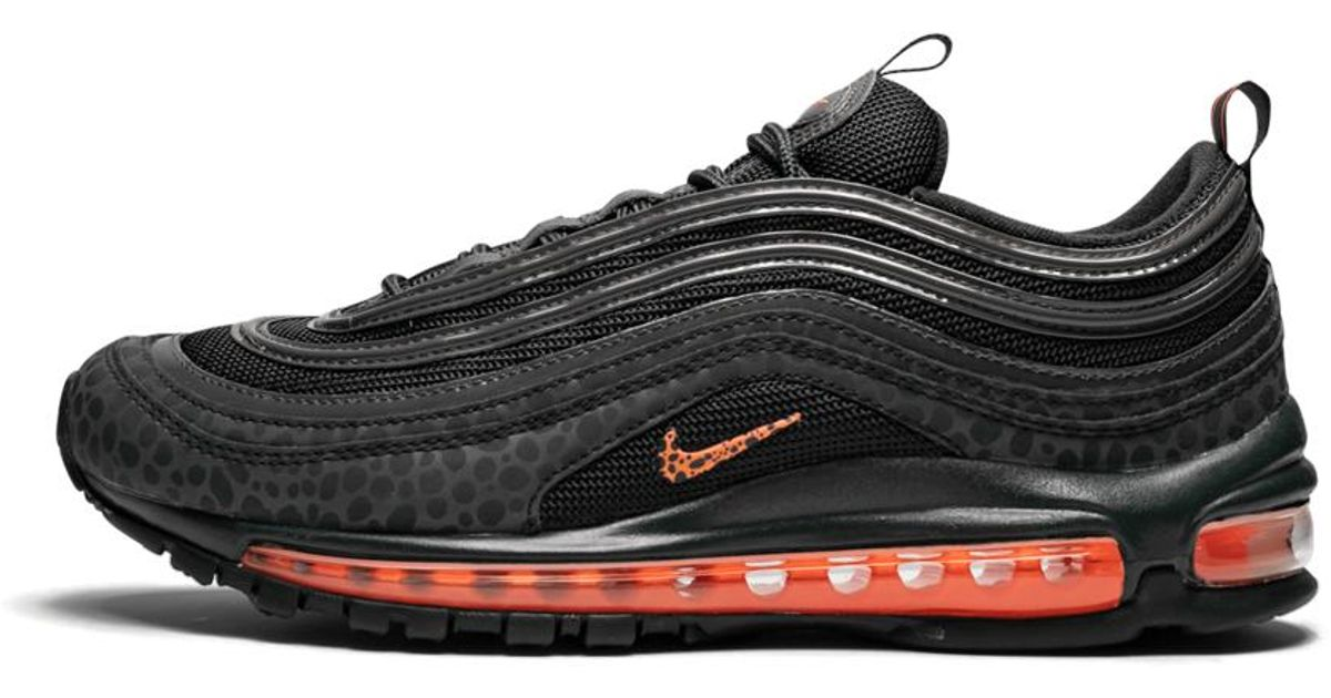 Nike Black Air Max 97 Se Reflective Shoes Size 8.5 for men