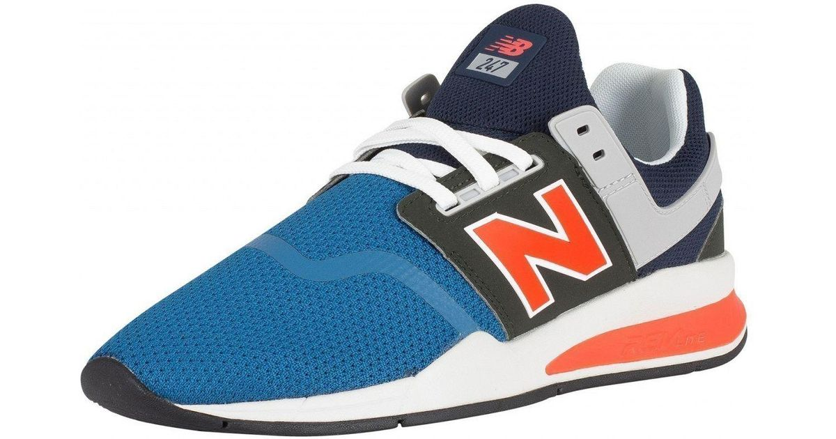 New Balance Blue 247 Trainers for men