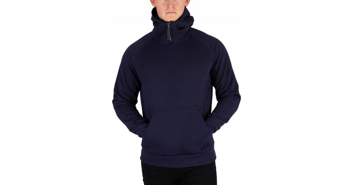 Blue G-Star Men/'s Cadet Strett Pullover Hoodie