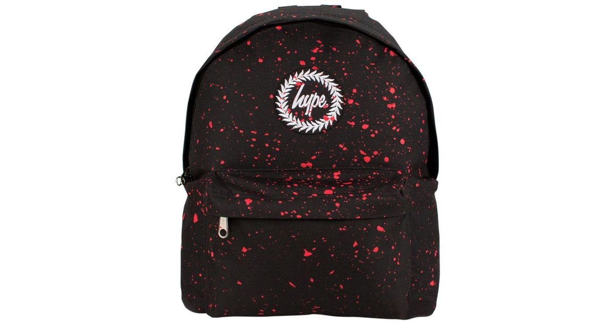 ever popular nice cheap official images Hype Synthetic Black/red Speckle Backpack for Men - Lyst