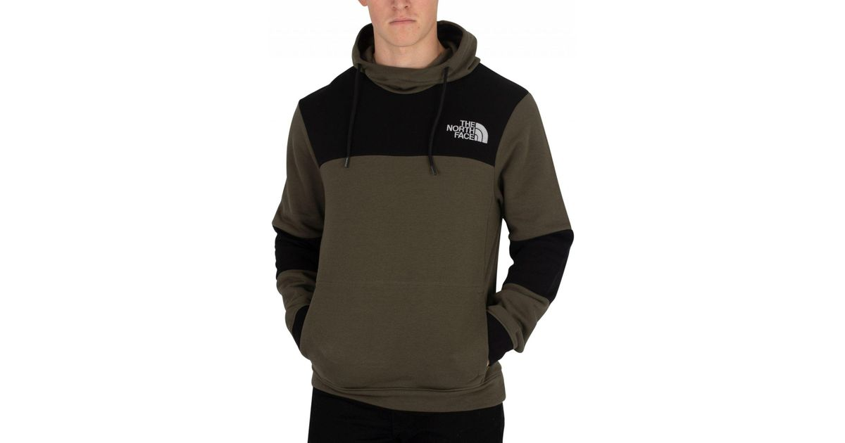 8bea4bb11 The North Face New Taupe Green Himalayan Pullover Hoodie in Green ...