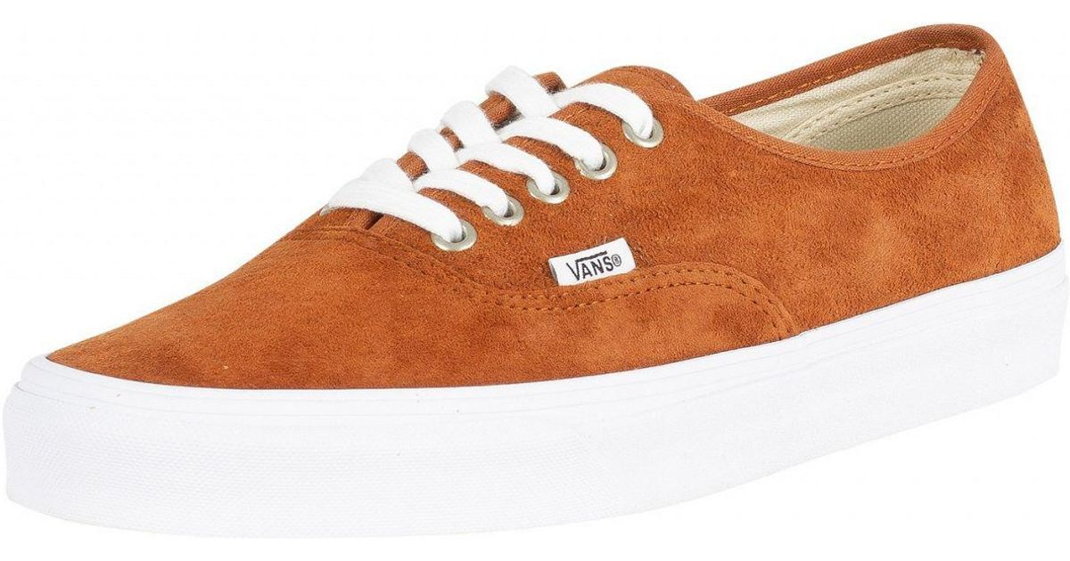 cddaf26d626f Vans Authentic Suede in Brown for Men - Save 43% - Lyst