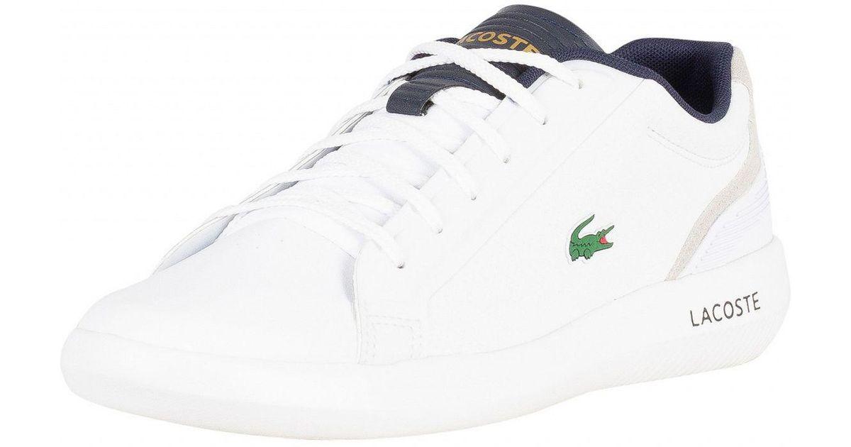 Lacoste Rubber White/navy Avantor 318 3
