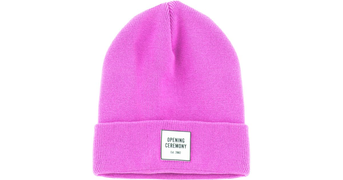 Opening Ceremony Knit Beanie Lyst