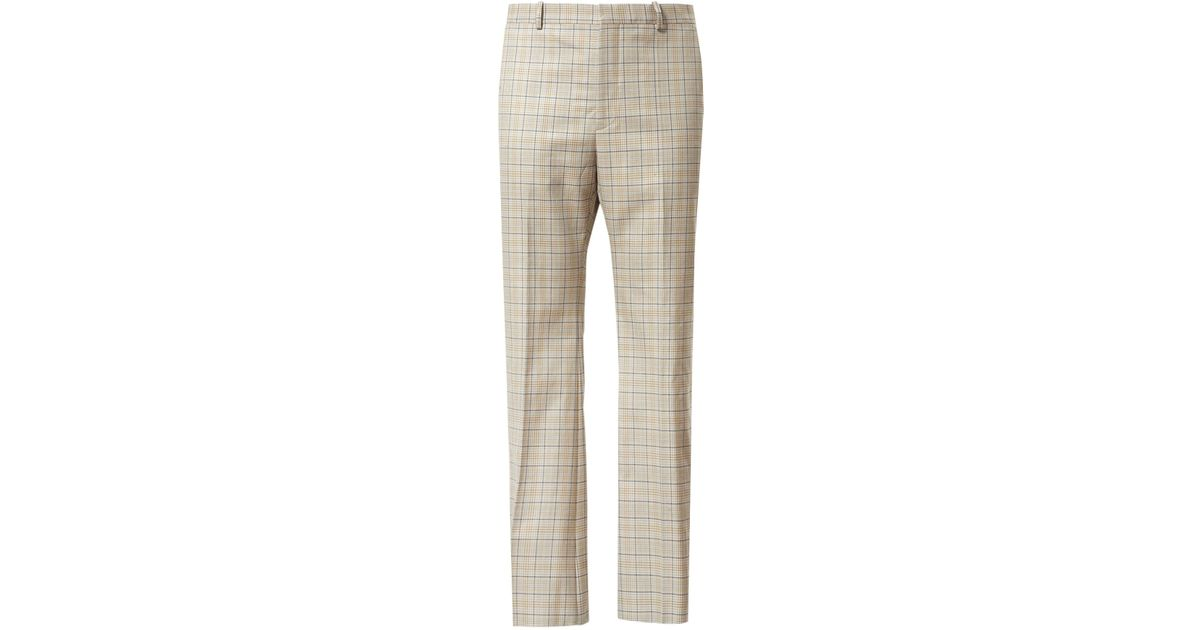 4cca344895 Balenciaga Natural Prince Of Wales Trousers for men