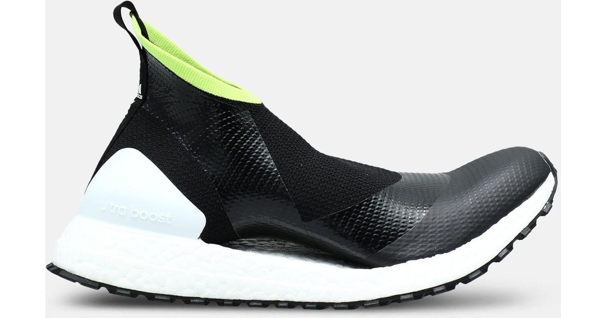 3ce3aa0ce29 Lyst - adidas By Stella McCartney Ultraboost X Atr44 Black And Lime Women s  Sneakers in Black - Save 45%