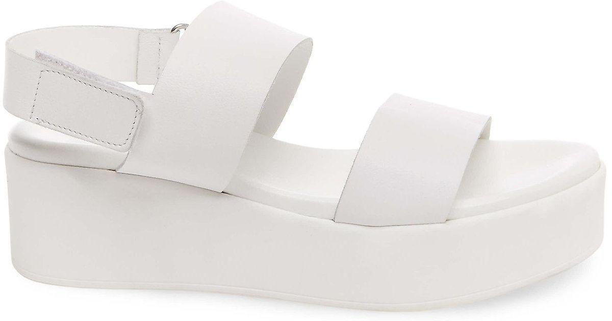 99b81c8a16e Lyst - Steve Madden Rachel Wedge Sandal in White