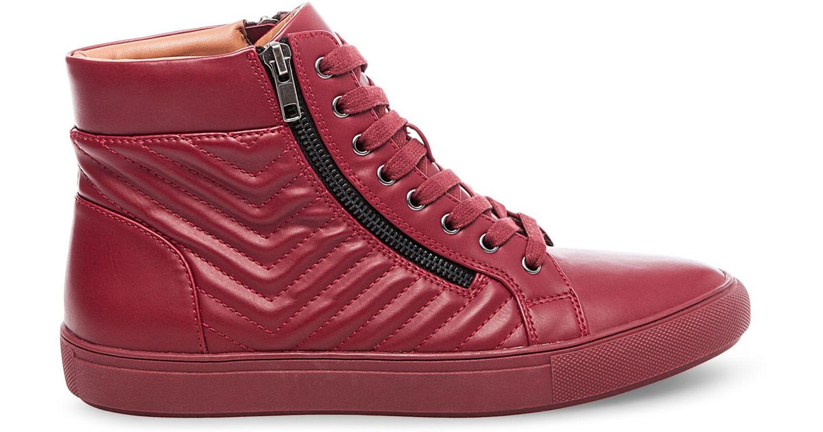 545f49de910 Lyst - Steve Madden Punted in Red for Men