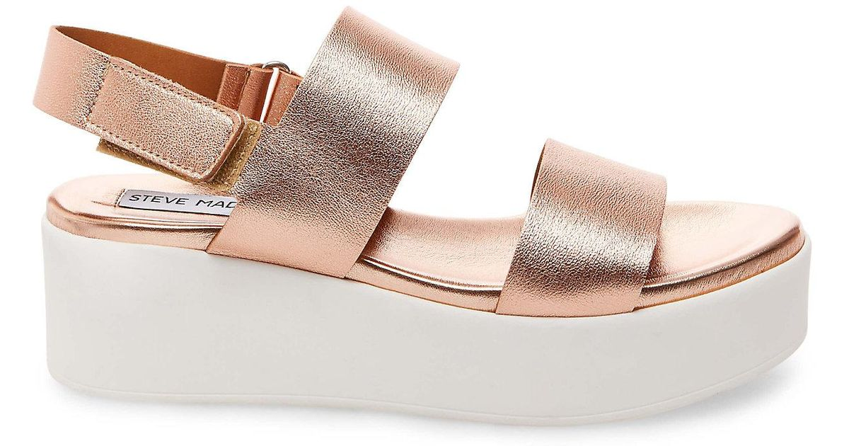 save off newest watch Steve Madden Leather Rachel - Lyst