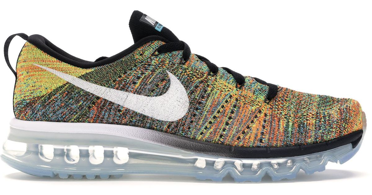 watch 33a4f 557c0 Nike Air Max 2015 Flyknit Multicolor for men