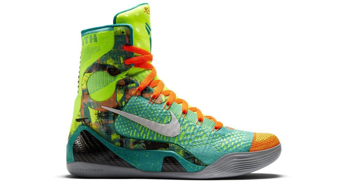 Nike Kobe 9 Elite Influence in Green