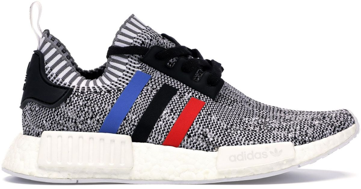 huge inventory 52a36 79b0f Adidas Multicolor Nmd R1 Tri Color Stripes White for men