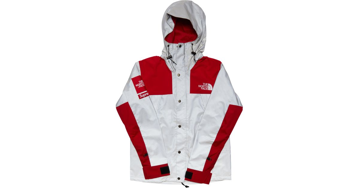 Supreme The North Face 3m Reflective Mountain Jacket Red For Men