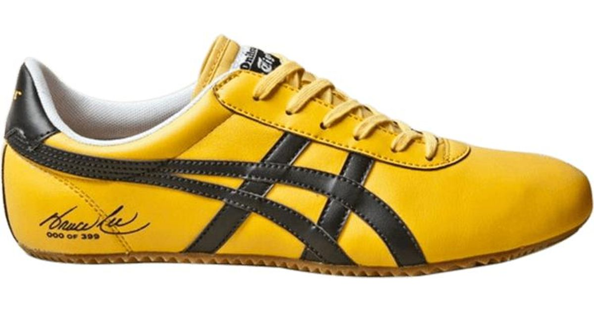 timeless design 98be6 c079a Onitsuka Tiger Yellow Tai Chi X Bait