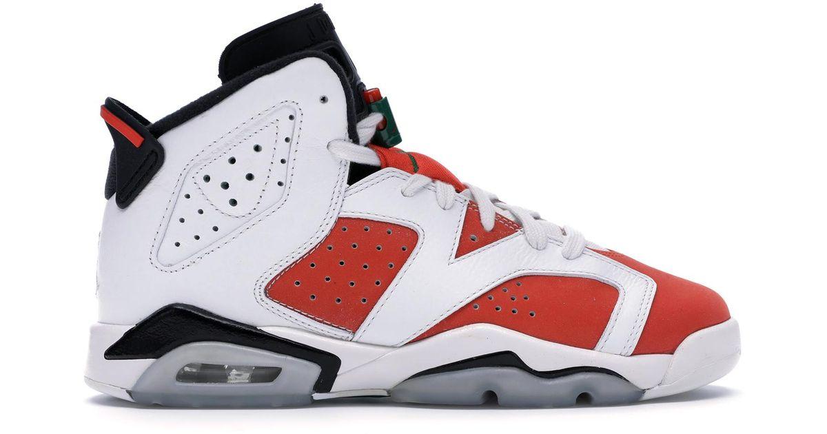 sale retailer a1e9d d6ec6 Lyst Nike 6 Retro Gatorade Like Mike White Gs In For Men