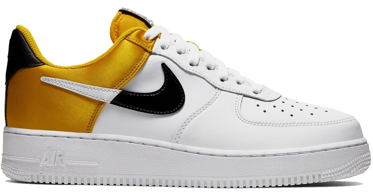 Nike Air Force 1 Low Nba City Edition White Gold for men