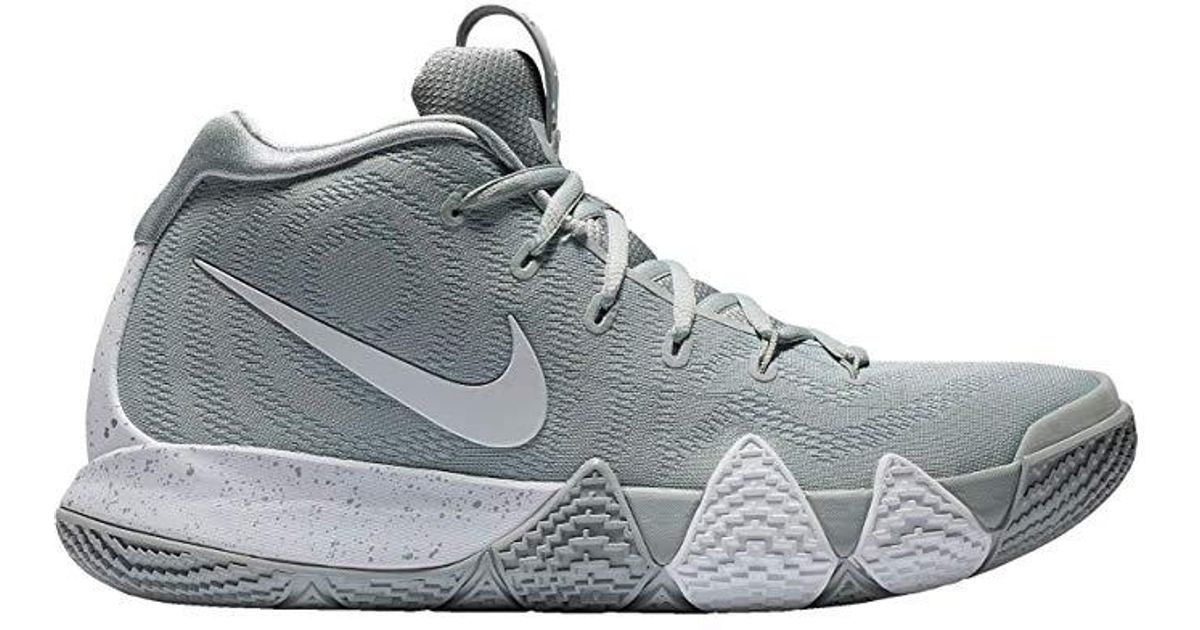 new concept 0cfdf bb6cc Nike Gray Kyrie 4 Wolf Grey for men