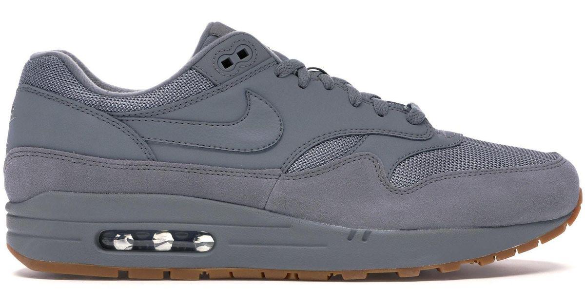 Nike Air Max 1 Cool Grey Gum in Gray