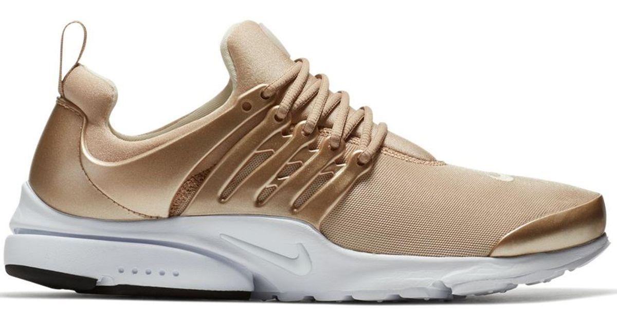 quite nice buy huge sale Nike Air Presto Gold Metallic for men
