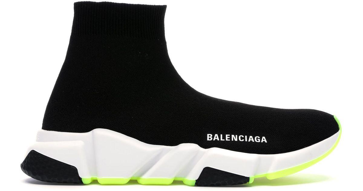 Balenciaga Speed Trainer Black White