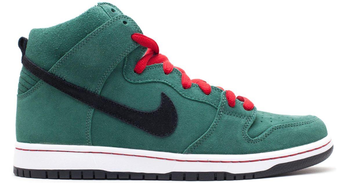 meet cead1 90773 Nike Black Sb Dunk High Heineken for men