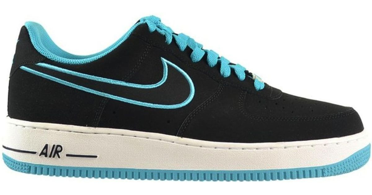 Nike Air Force 1 Low Black Turquoise