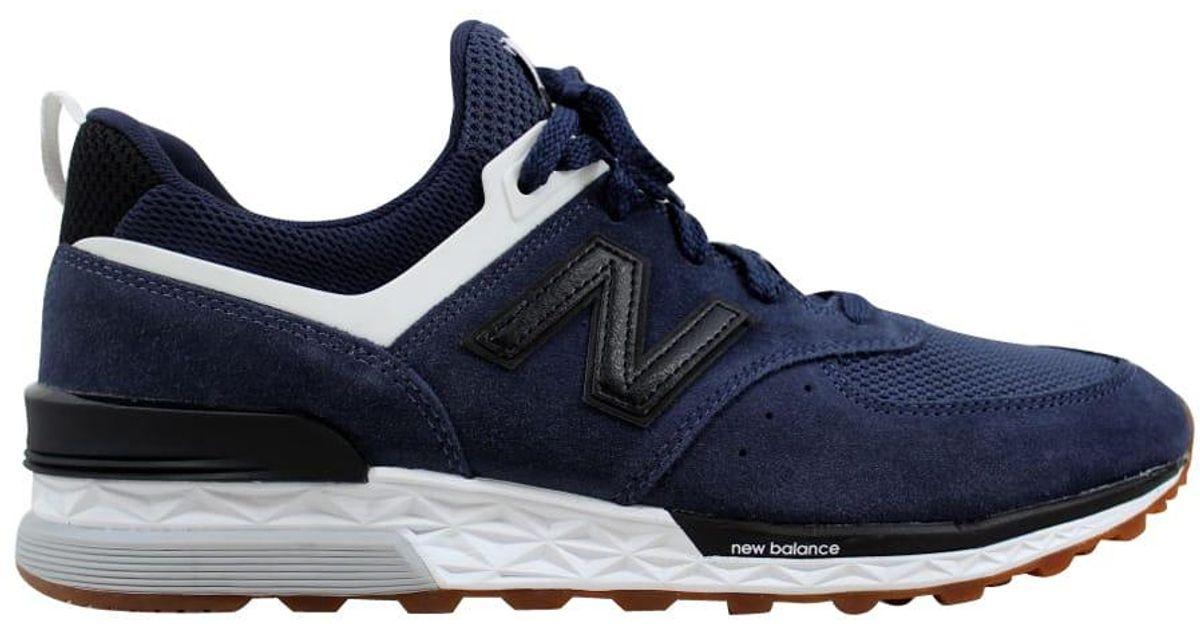 New Balance 574 Sport in Navy (Blue) for Men - Lyst