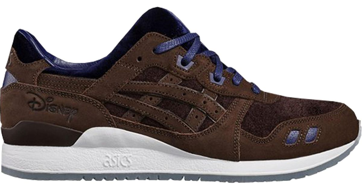 new product 4b538 8755c Asics Blue Gel-lyte Iii Disney Beauty And The Beast Coffee for men