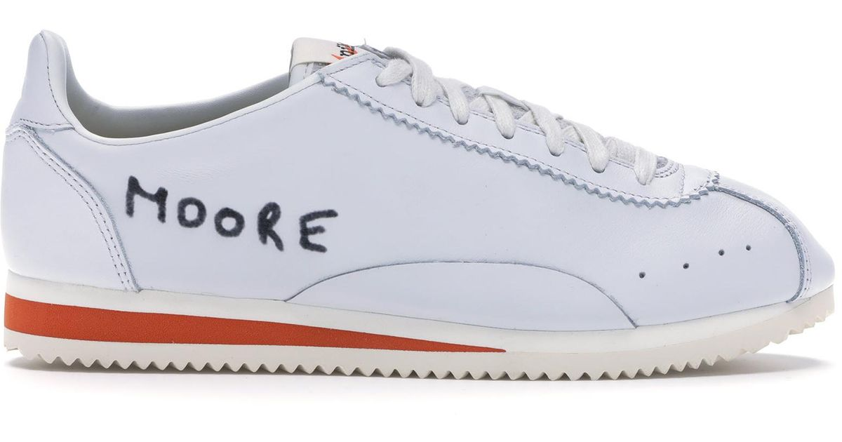 buy online 42a0f 35081 Nike White Classic Cortez Kenny Moore Track Spike for men