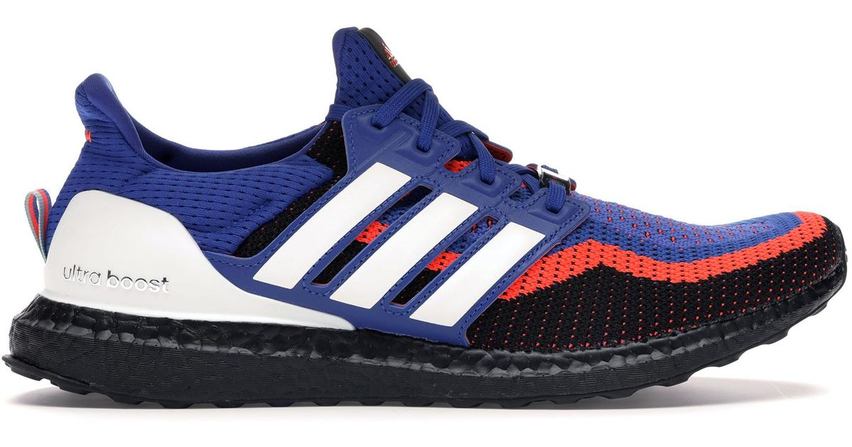 separation shoes ee3a7 d7fe1 Adidas Blue Ultra Boost 2 Foot Locker Asterisk Collective for men