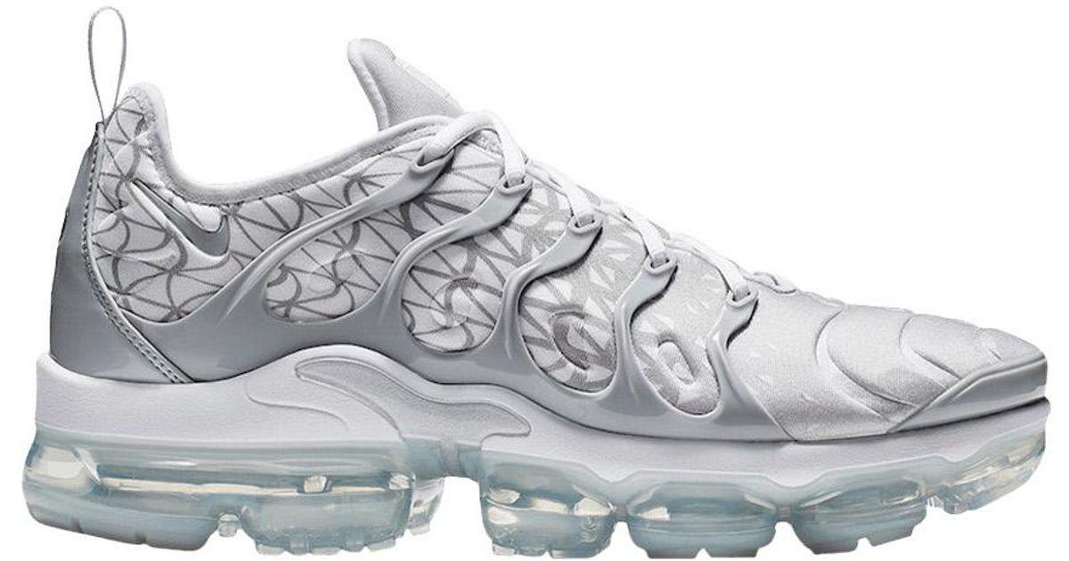 Nike Air Vapormax Plus Silver White for