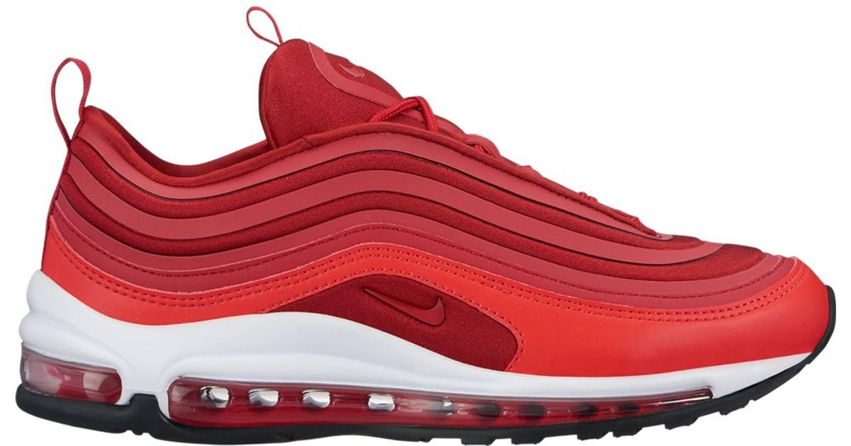 low priced 371fb 69f81 Nike Air Max 97 Ultra 17 Gym Red (w)