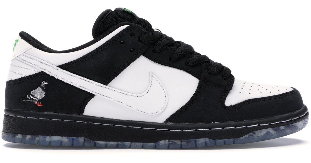 official photos bbd68 0d650 Nike Black Sb Dunk Low Staple Panda Pigeon for men