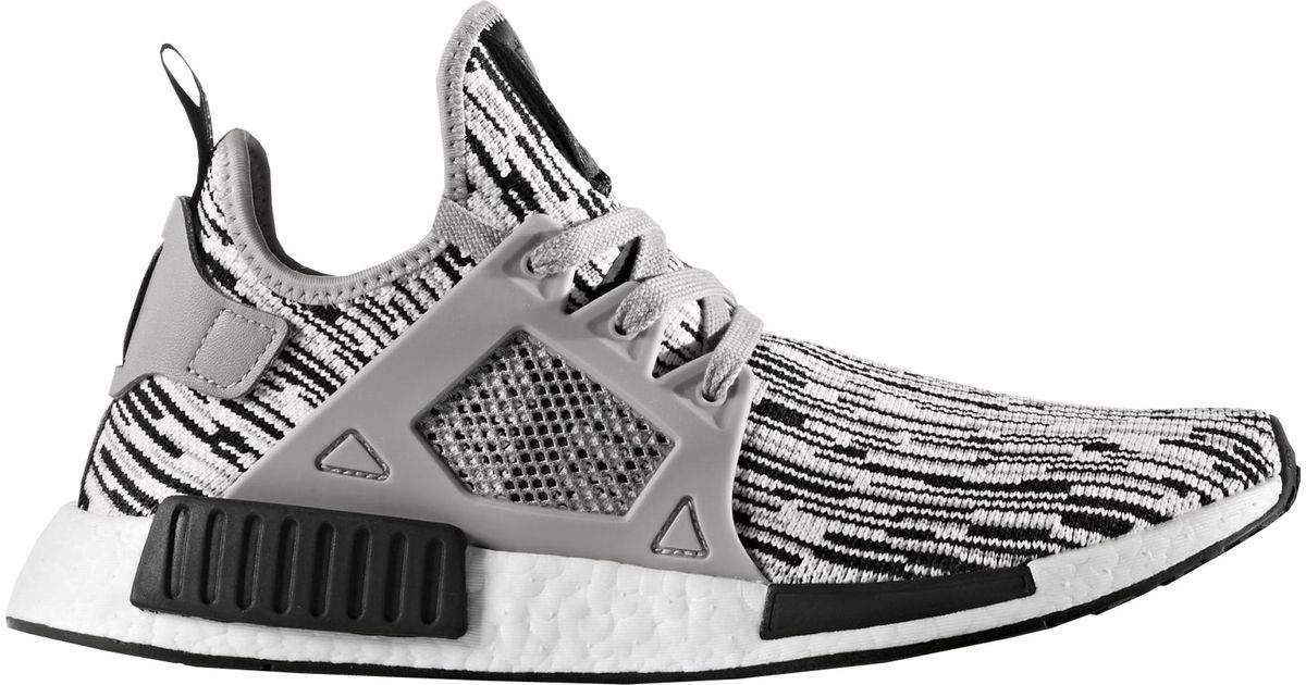 new style a8cbc 84276 Adidas Gray Nmd Xr1 Glitch Camo Oreo for men