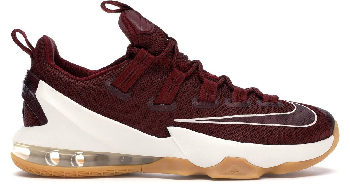 Nike Lebron 13 Low Cavs in Red for Men
