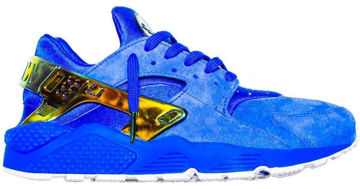 Nike Air Huarache Undefeated La in Blue