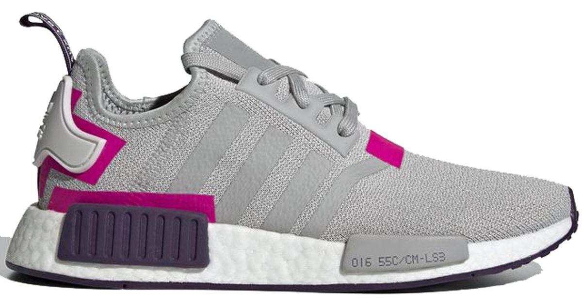 adidas Nmd R1 Grey Two Shock Pink (w